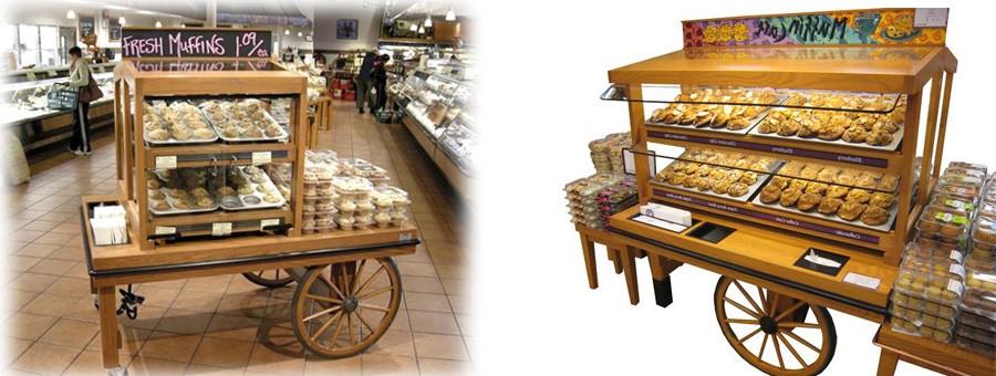 Bakery Fixtures CMS Display