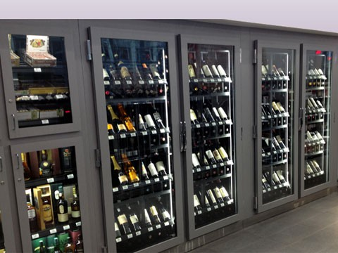 Etonnant Refrigerated Wine Cabinet